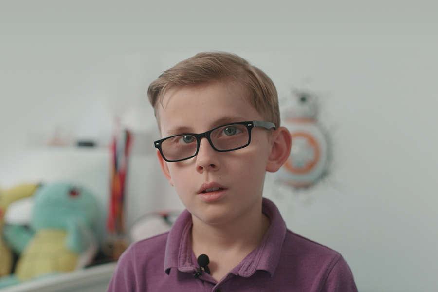 With more funding this discovery could help children like Jackson, who has a different type of LCA